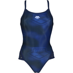 arena Iconic Super Fly Back Swimsuit Women navy/space blue multi